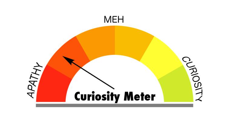 Curiosity Meter Orange