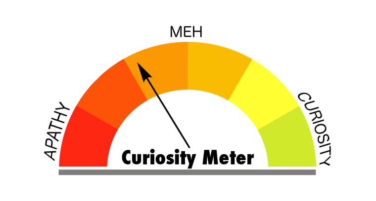 Curiosity Meter Dark Orange