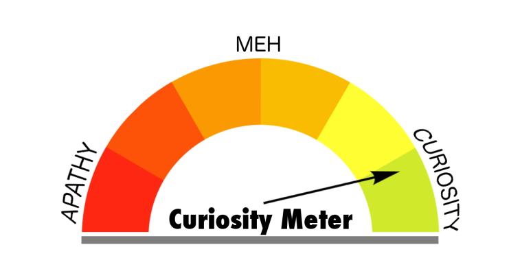 Curiosity Meter Green