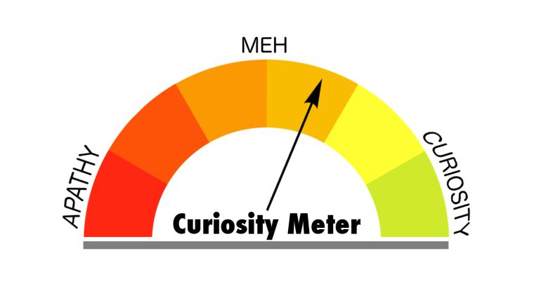 Curiosity Meter Meh