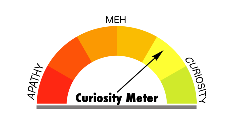 Curiosity Meter Yellow